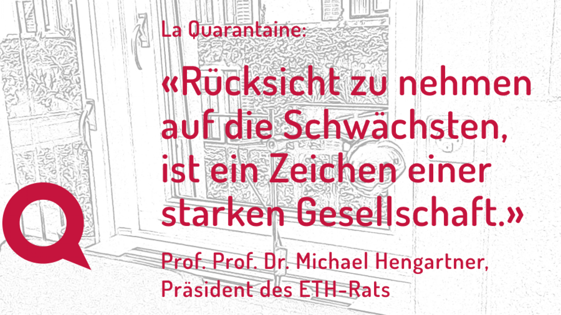 Header Quarantaine Hengartner Quote